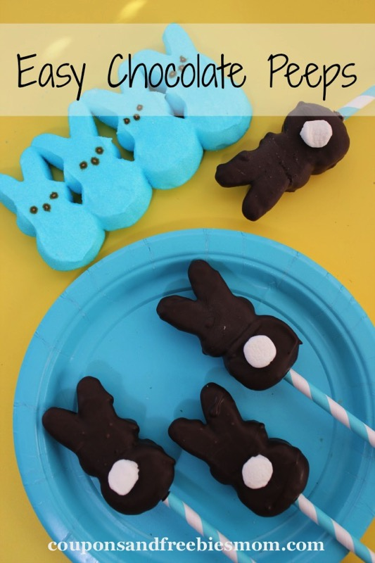 Easy Chocolate Peeps - and 15 other yummy Easter desserts!