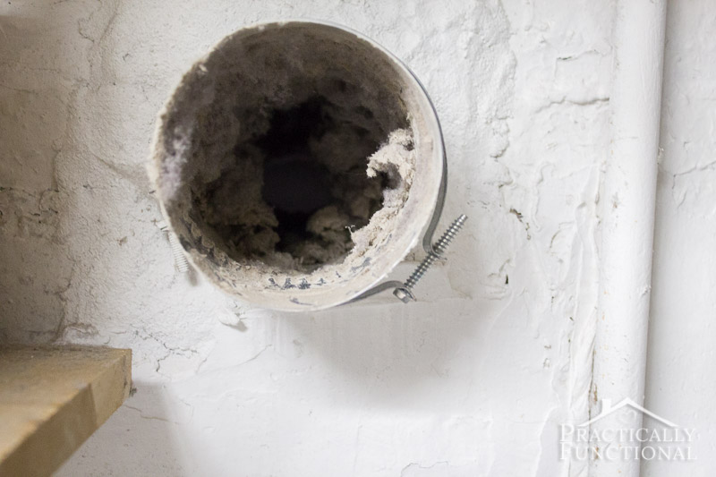 How to clean a dryer vent 6