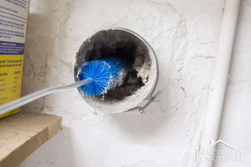 How to clean a dryer vent 7