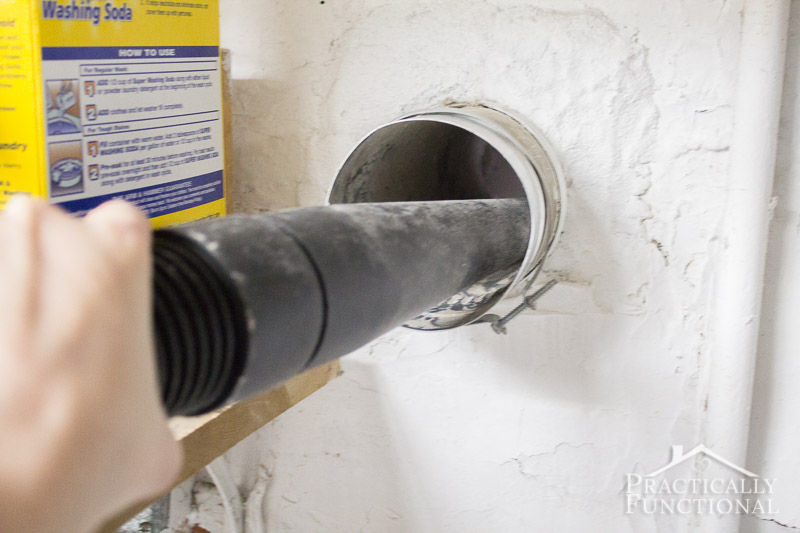 How to clean a dryer vent 8