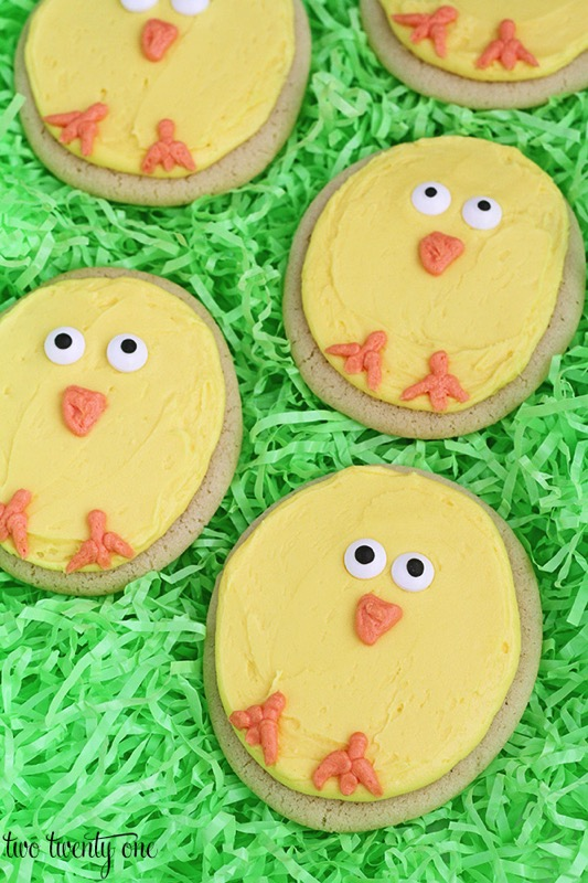 Chick cookies - and 15 other yummy Easter desserts!