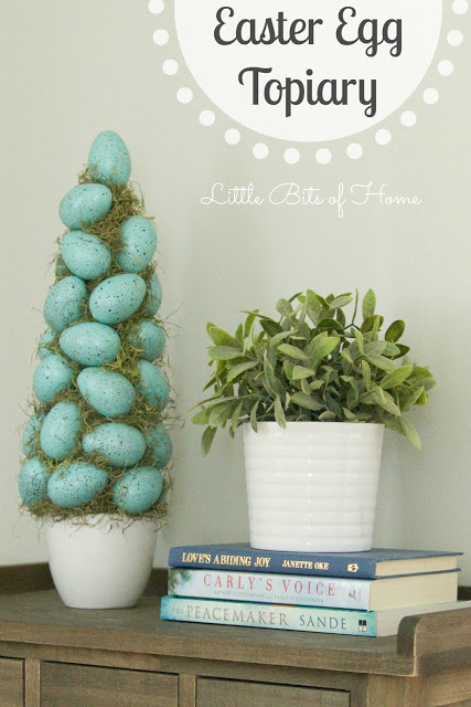 Easter egg topiary - and 14 other awesome Easter crafts!