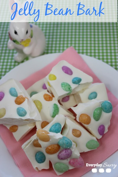 Jelly bean bark - and 15 other yummy Easter desserts!