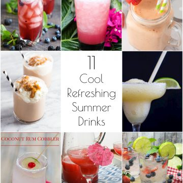 So Creative! – 11 Cool, Refreshing Summer Drink Recipes