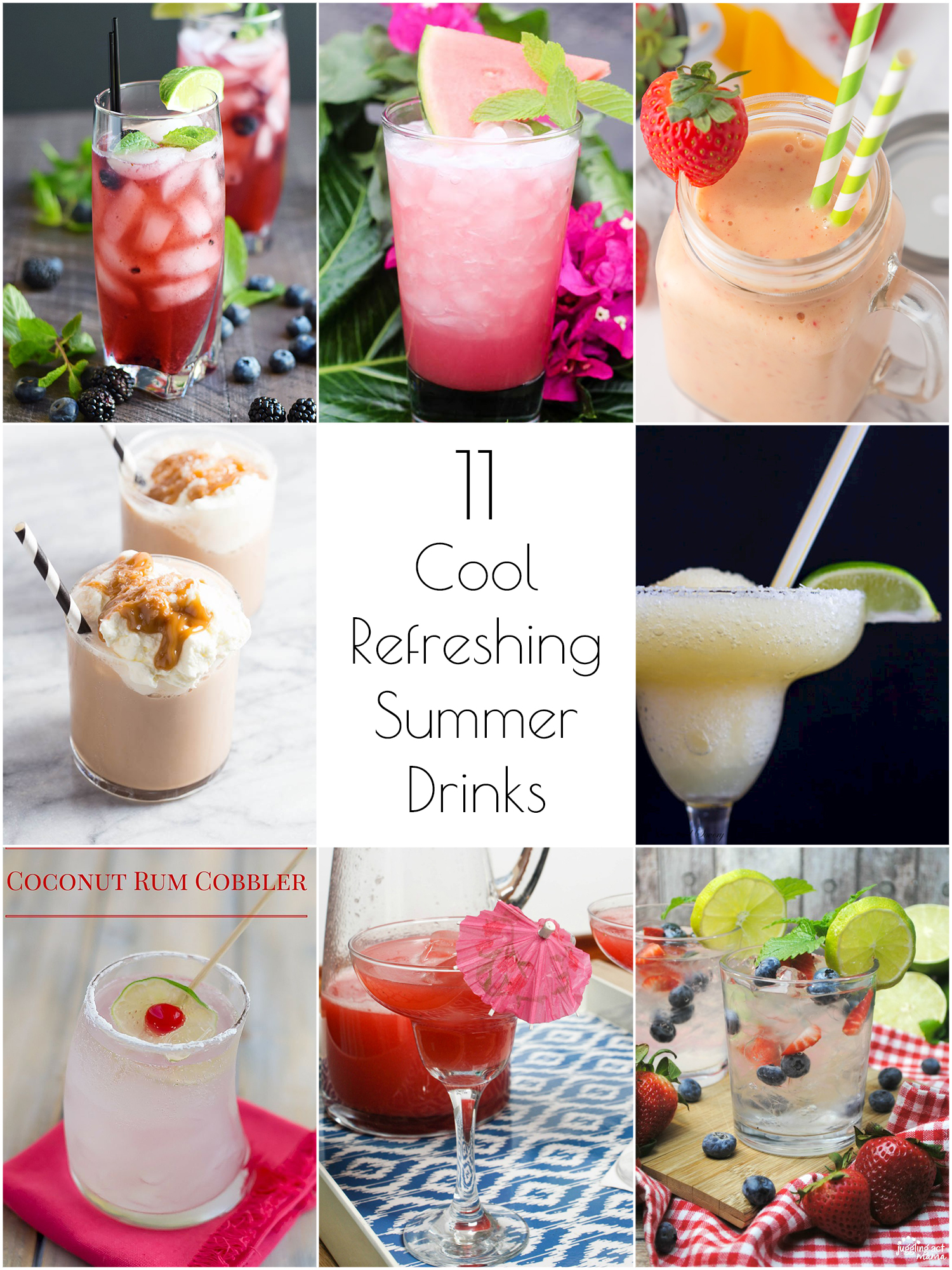 11 Cool, Refreshing Summer Drink Recipes