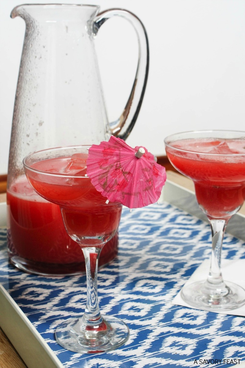 Strawberry Watermelon Agua Fresca - and 10 other cool, refreshing summer drink recipes!