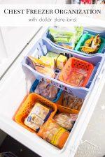 Our Chest Freezer Organization System