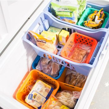 Our Chest Freezer Organization System