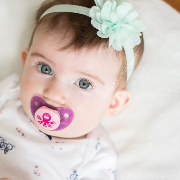 learn how to make no sew diy baby flower headbands