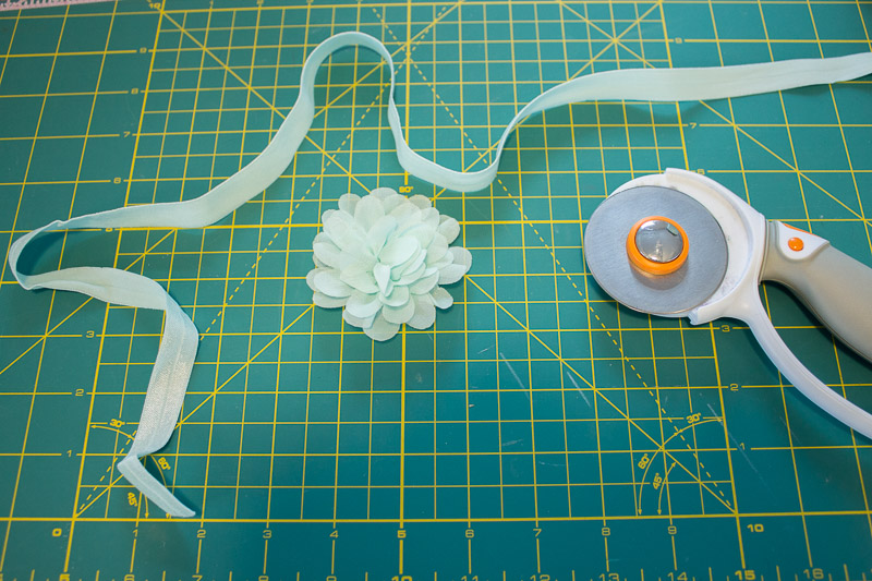 DIY No Sew Baby Flower Headbands 11