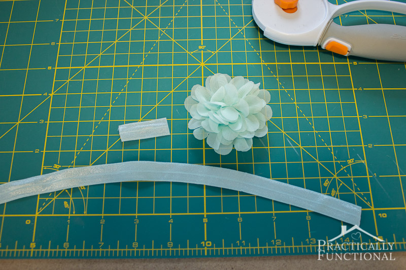DIY No Sew Baby Flower Headbands 3