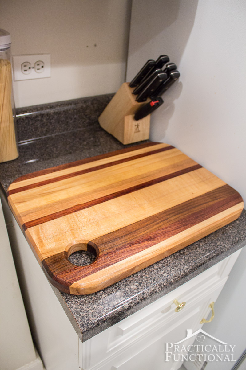 How to oil a wood cutting board 5