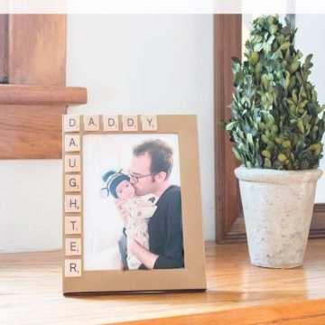 10 Minute Father's Day Picture Frame