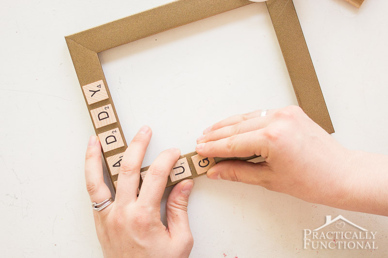 10 Minute Father s Day Picture Frame 6