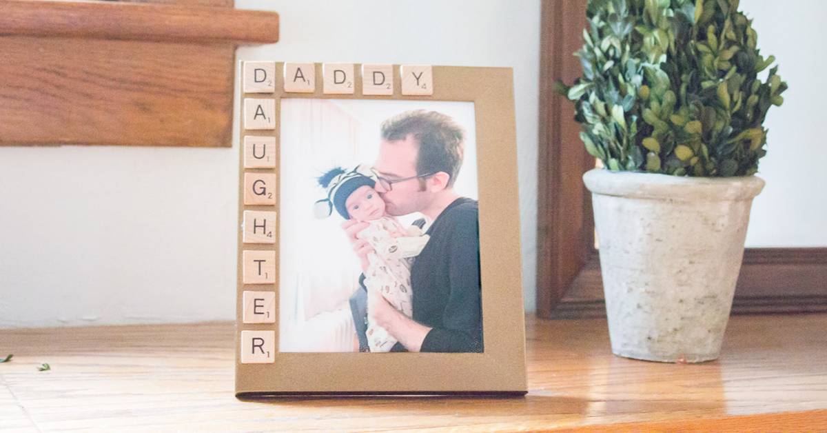 10 Minute Father S Day Picture Frame