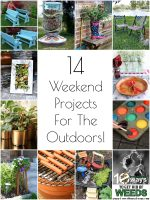 So Creative! 14 DIY Outdoor Weekend Projects