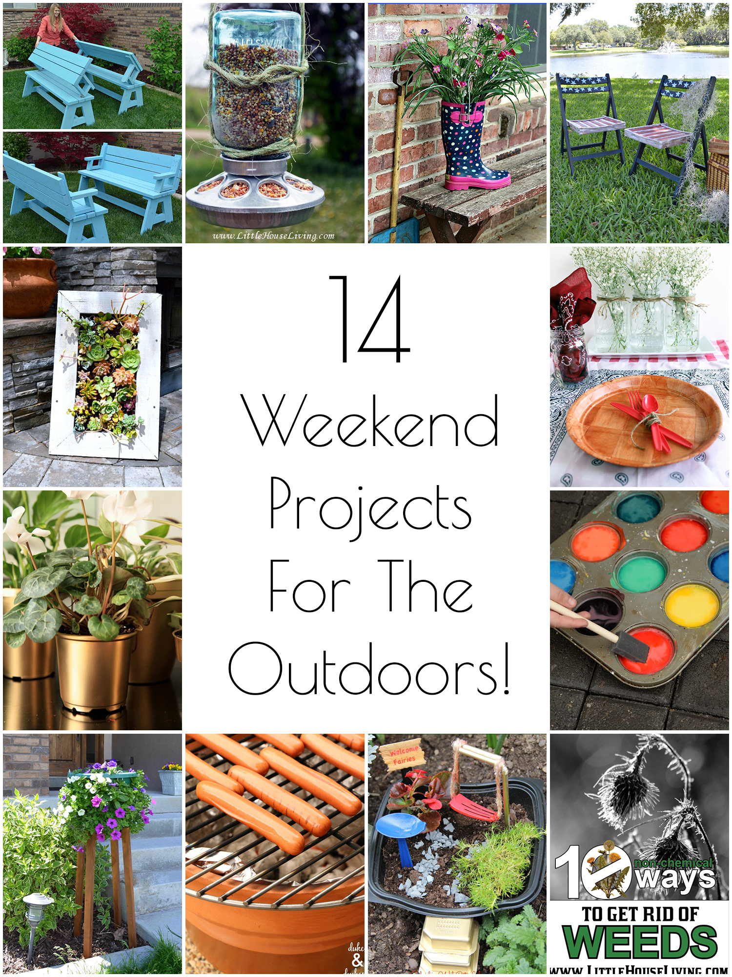 so creative 14 diy outdoor weekend projects