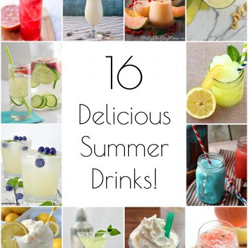 So Creative! – 16 Delicious Summer Drink Recipes