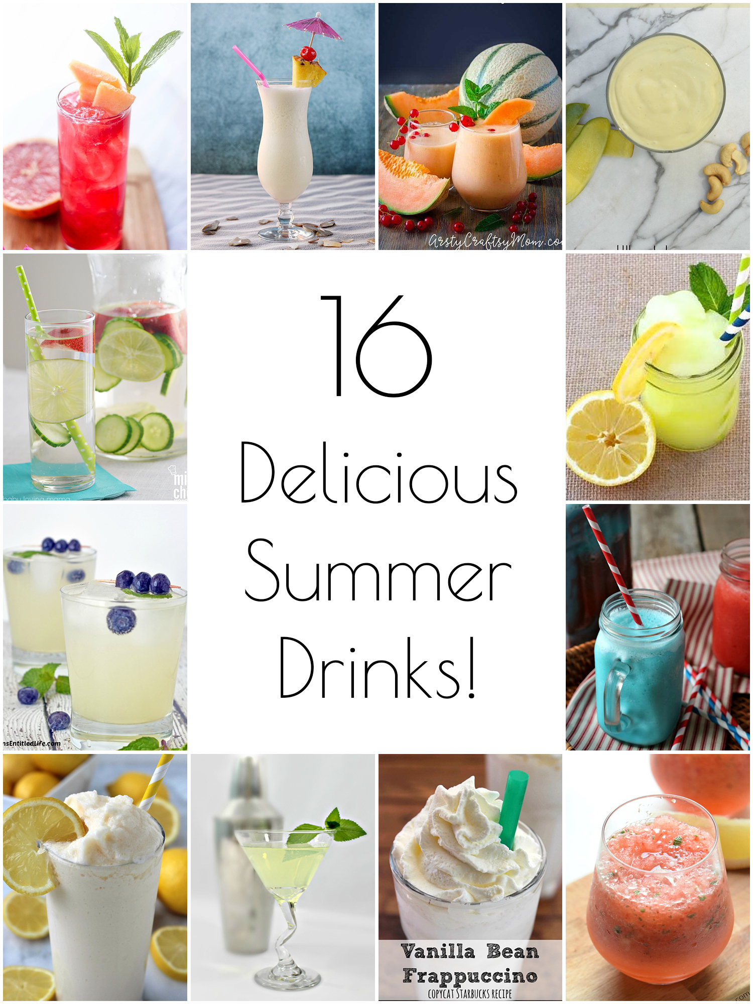 16 Delicious Summer Drink Recipes