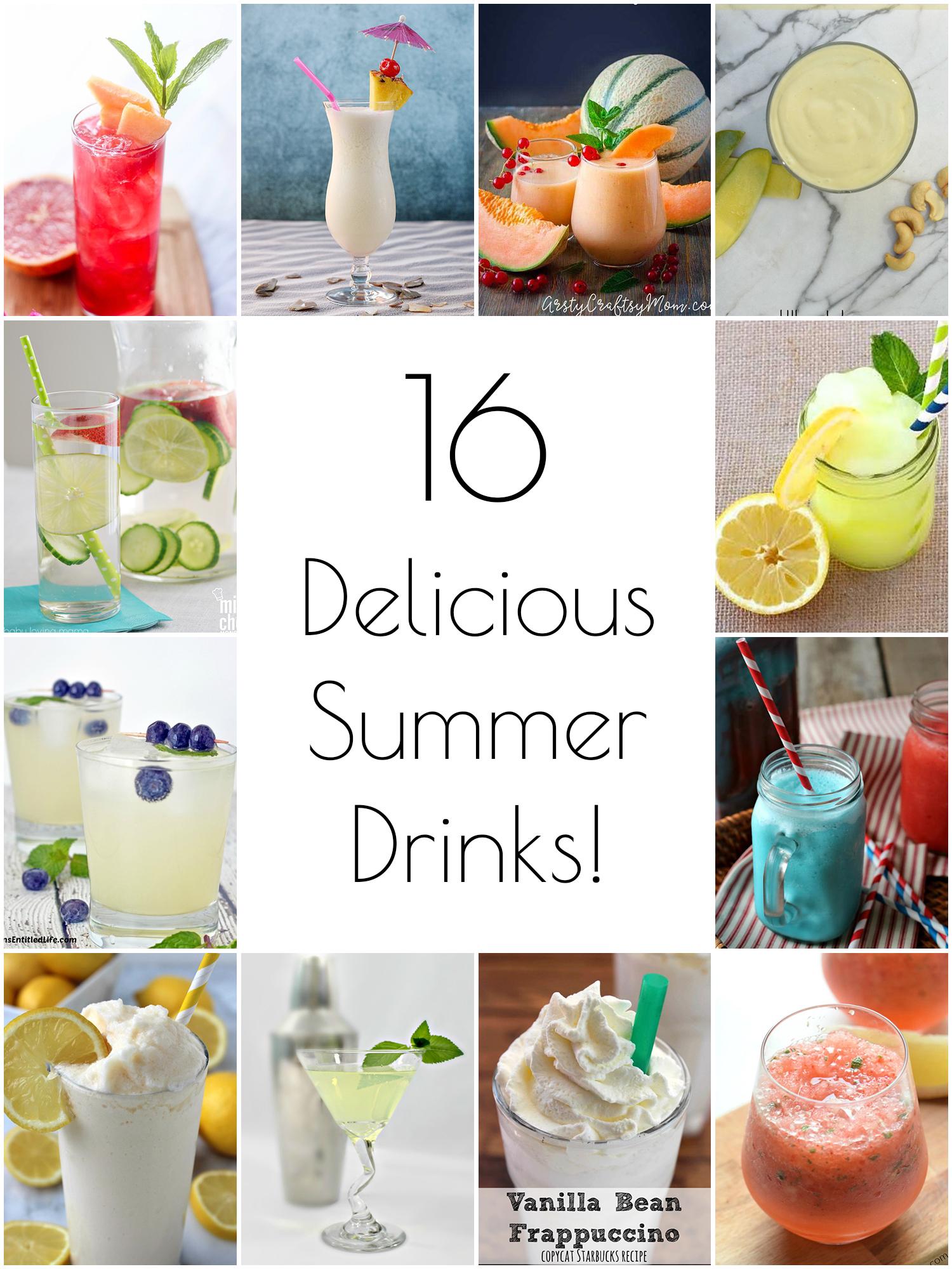 16 delicious summer drink recipes