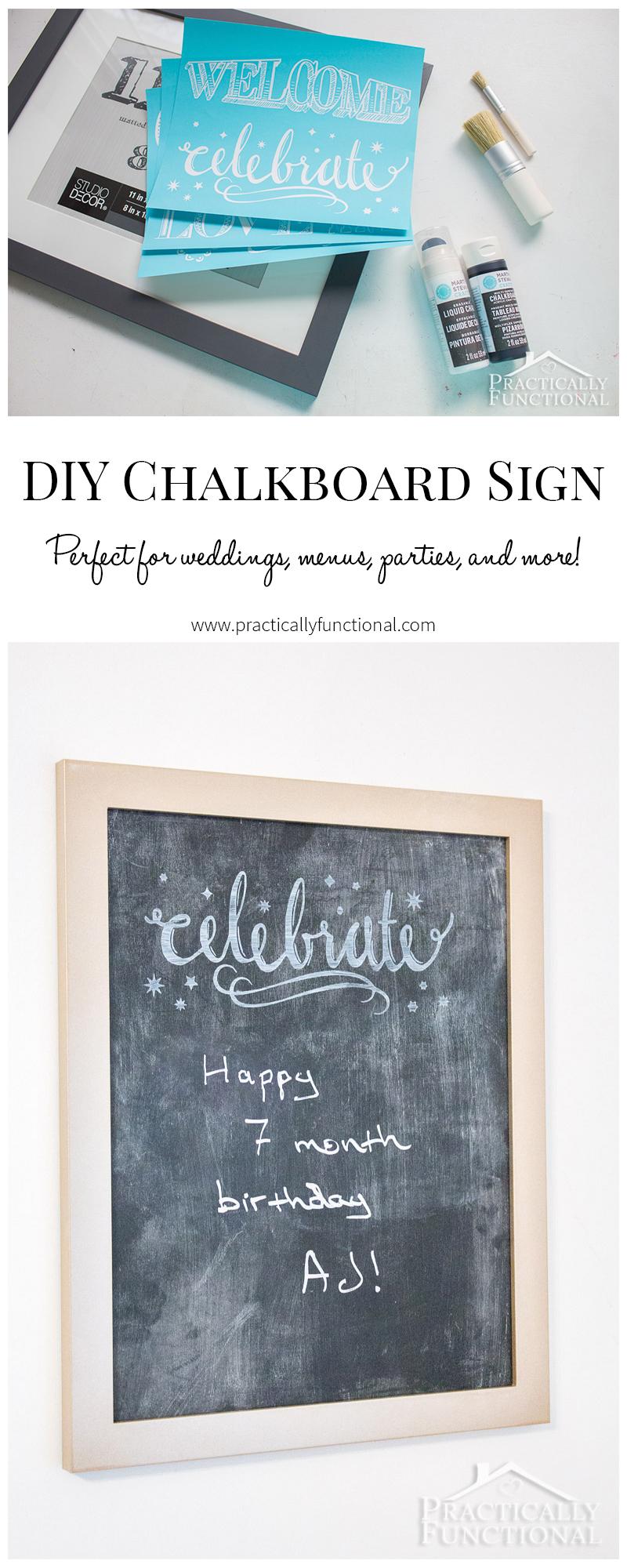 Making Chalkboard Paint Magnetic