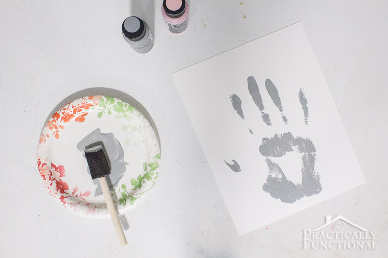 Father s Day Handprint Craft 4