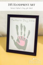 DIY Father's Day Handprint Craft