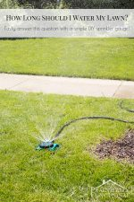 Figure Out How Long To Water Your Lawn With A DIY Sprinkler Gauge