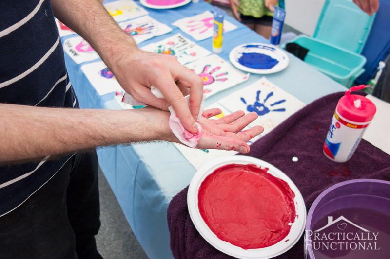 Family Reunion Handprint Crafts 5