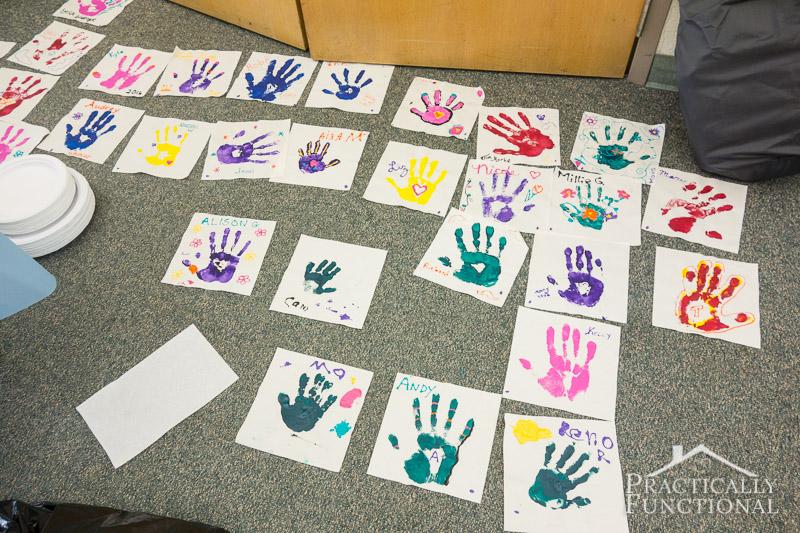 Family Reunion Handprint Crafts 9