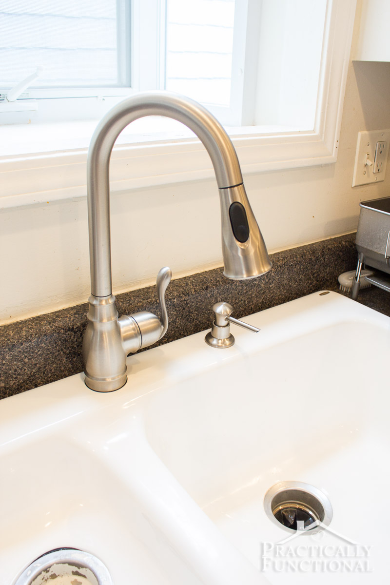 how to install a kitchen faucet how to install a kitchen faucet with pull down sprayer