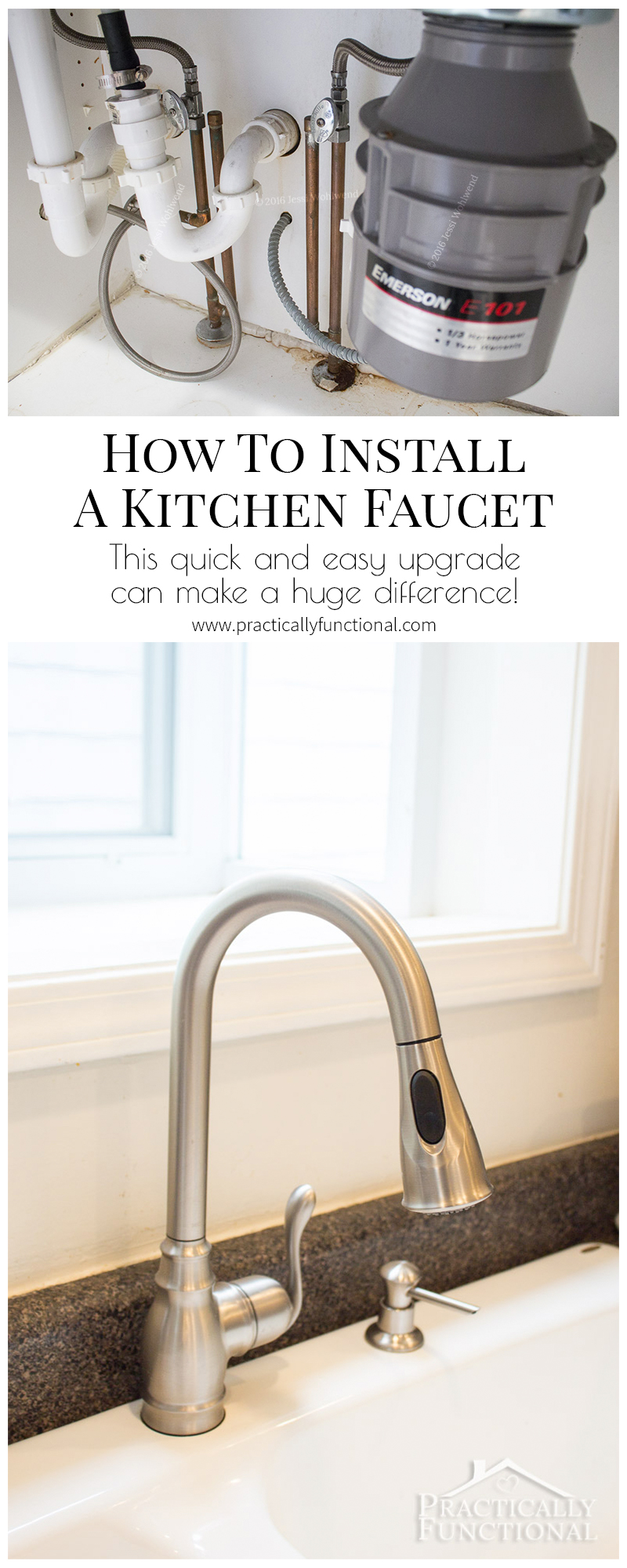 how to install a kitchen faucet learn how to install a kitchen faucet in under an hour