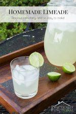 Refreshing Homemade Limeade Recipe