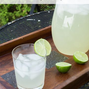 Refreshing Homemade Limeade Recipe
