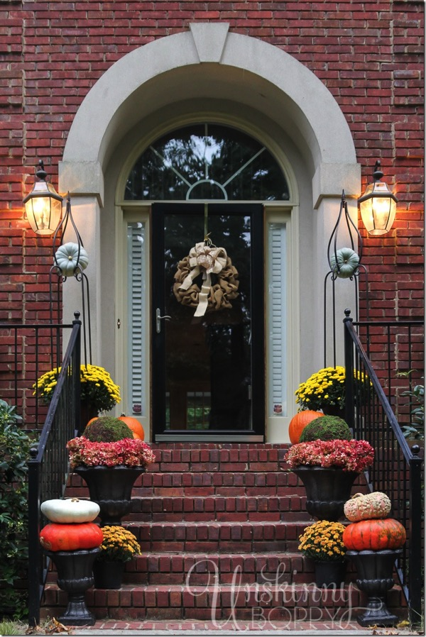 Home Fall outdoor decorating ideas  YouTube