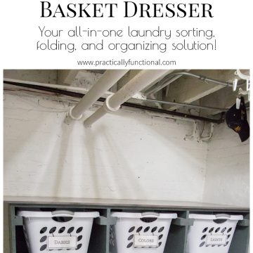 Laundry Room Sorting Baskets