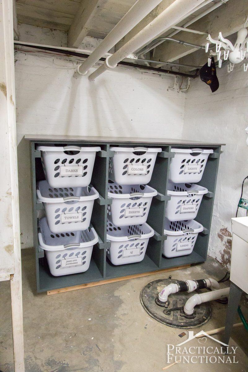 Simple diy laundry basket dresser solutioingenieria Gallery