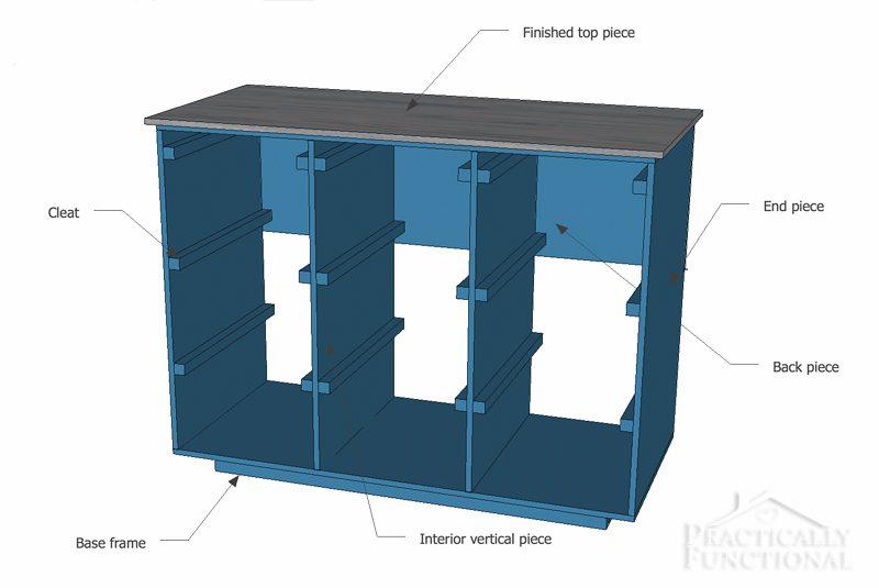 Simple diy laundry basket dresser simple diy laundry basket dresser pieces solutioingenieria Choice Image