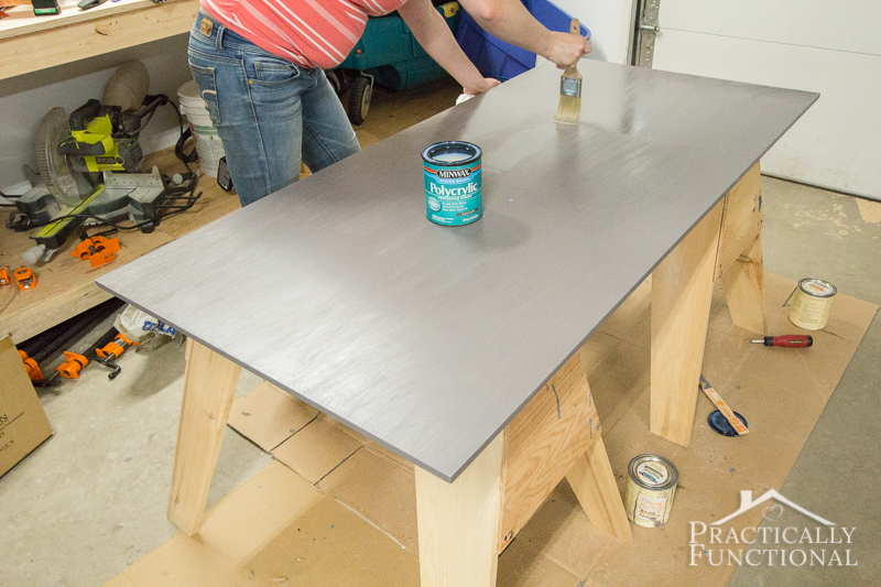 Can Polycrylic Be Used Over Latex Paint