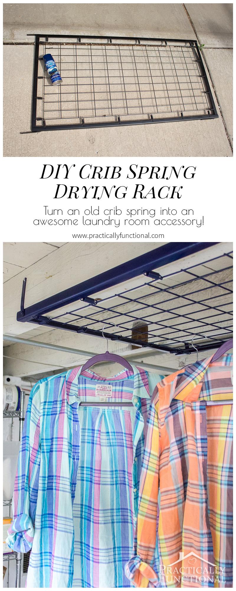 Laundry Room Drying Rack Drawer