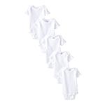 Plain short sleeve onesies