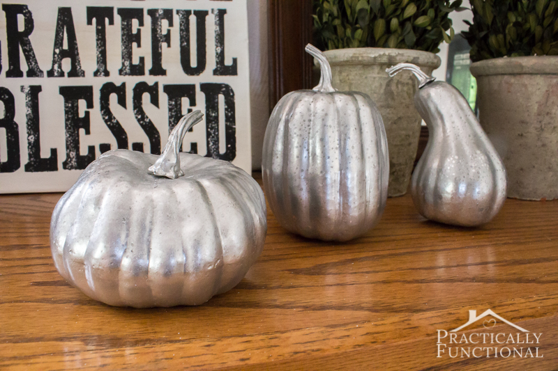 How To Spray Paint Pumpkins White
