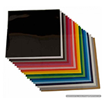 Matte heat transfer vinyl - 12 x 12 sheets