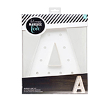 """Heidi Swapp Marquee Love 12"""" Letters"""