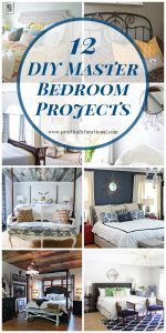 12 Gorgeous DIY Master Bedroom Projects