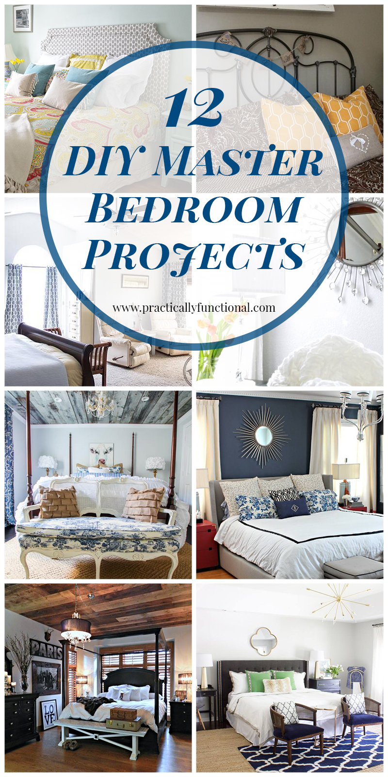 12 DIY Master Bedroom Projects