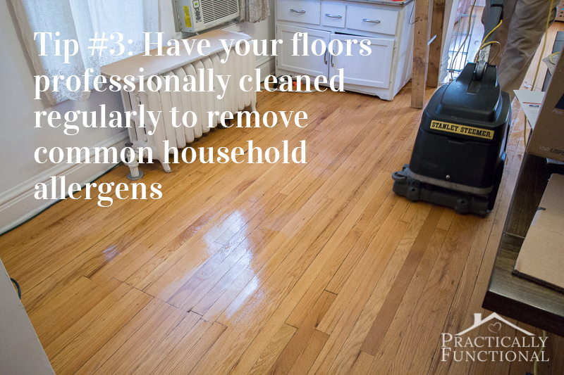 Professionally Clean Hardwood Floors
