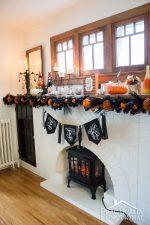 DIY Fun & Festive Halloween Mantel