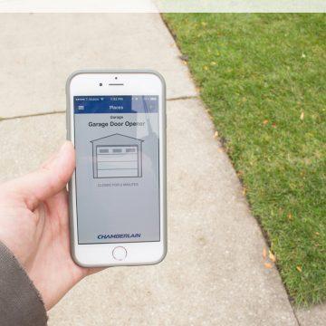 Open Your Garage Door With Your Phone!