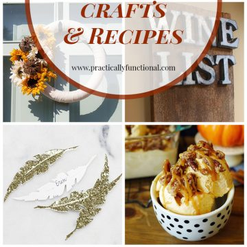 12 Thanksgiving Crafts & Recipes